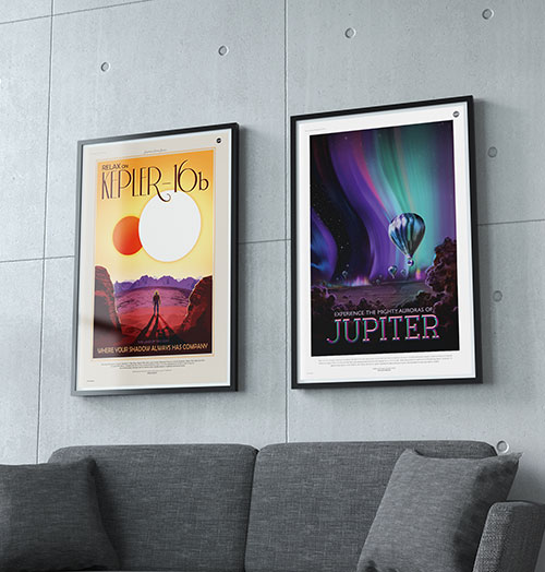 All size poster frames