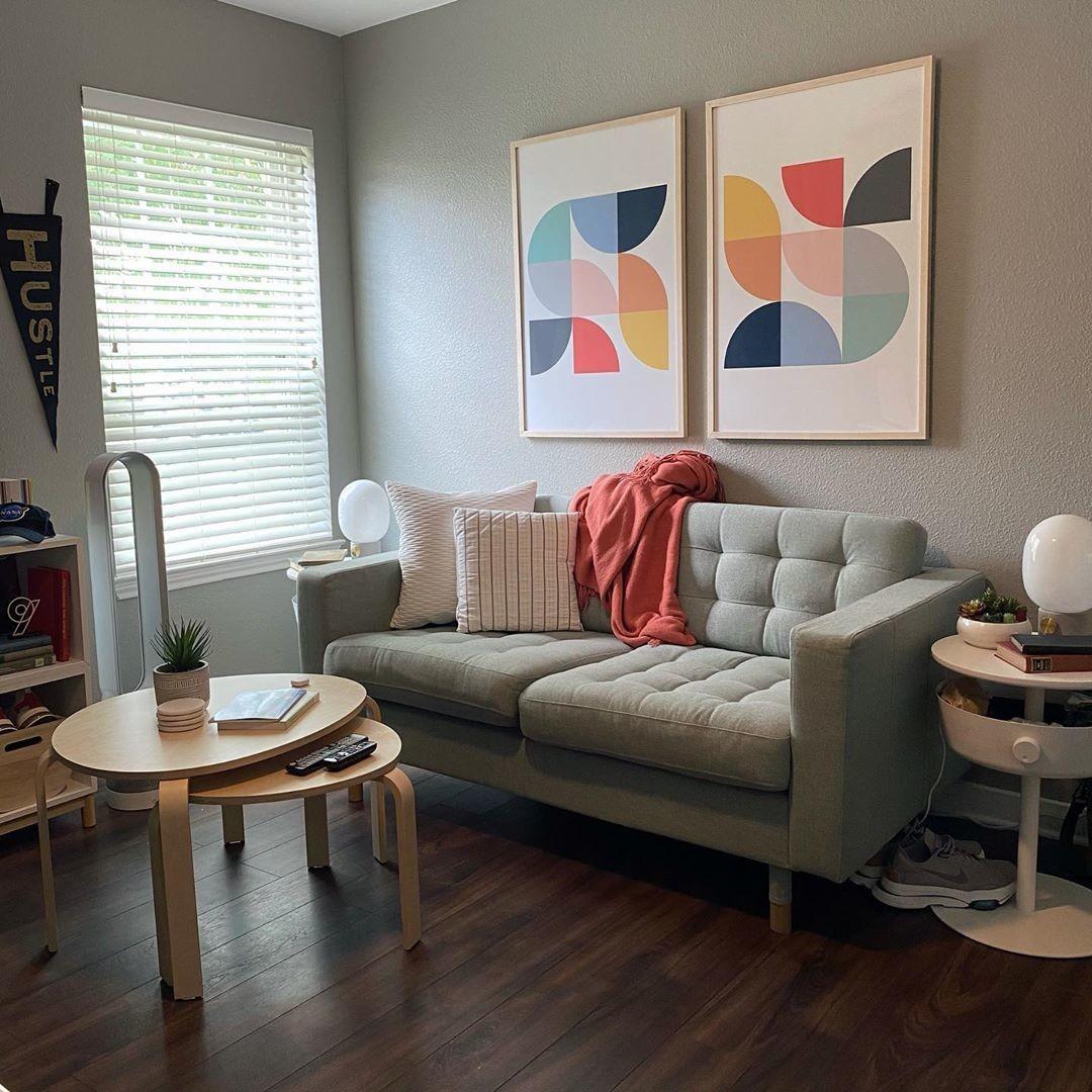 tn9design custom frame for home office