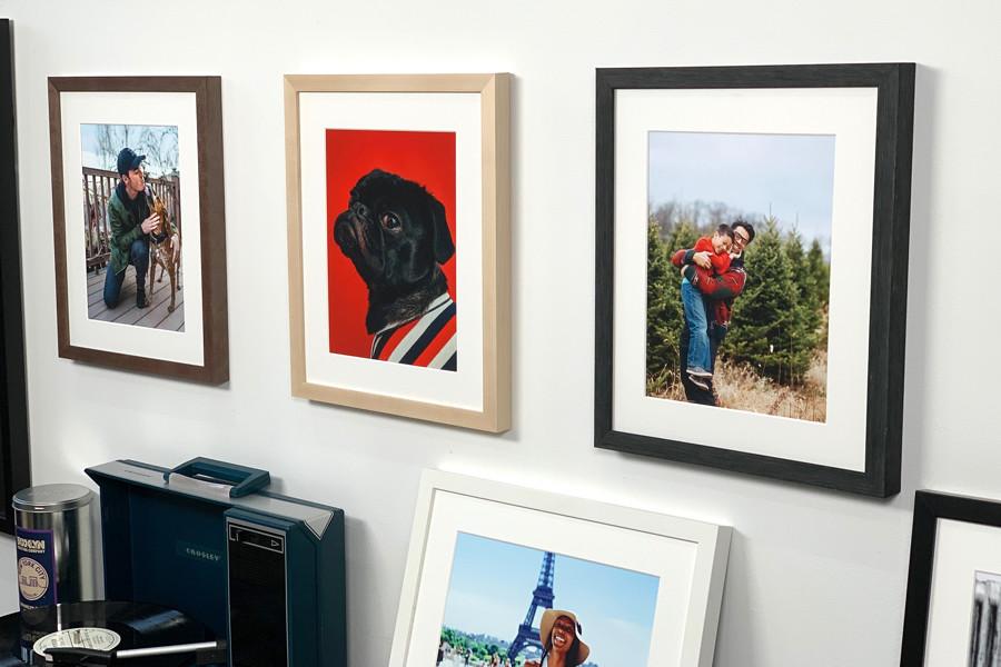 Create a Gallery Wall with Framed Photos