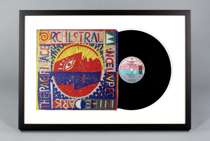 custom framing online - vinyl records