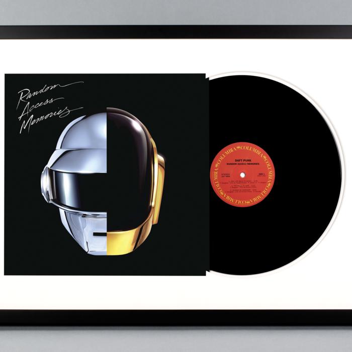 Random Access Memories Framed Vinyl Album