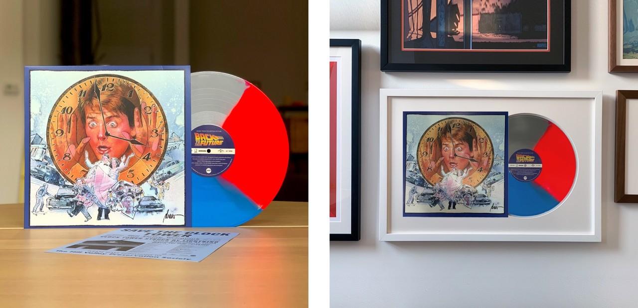 Back to the Future Custom Framed Vinyl Soundtrack