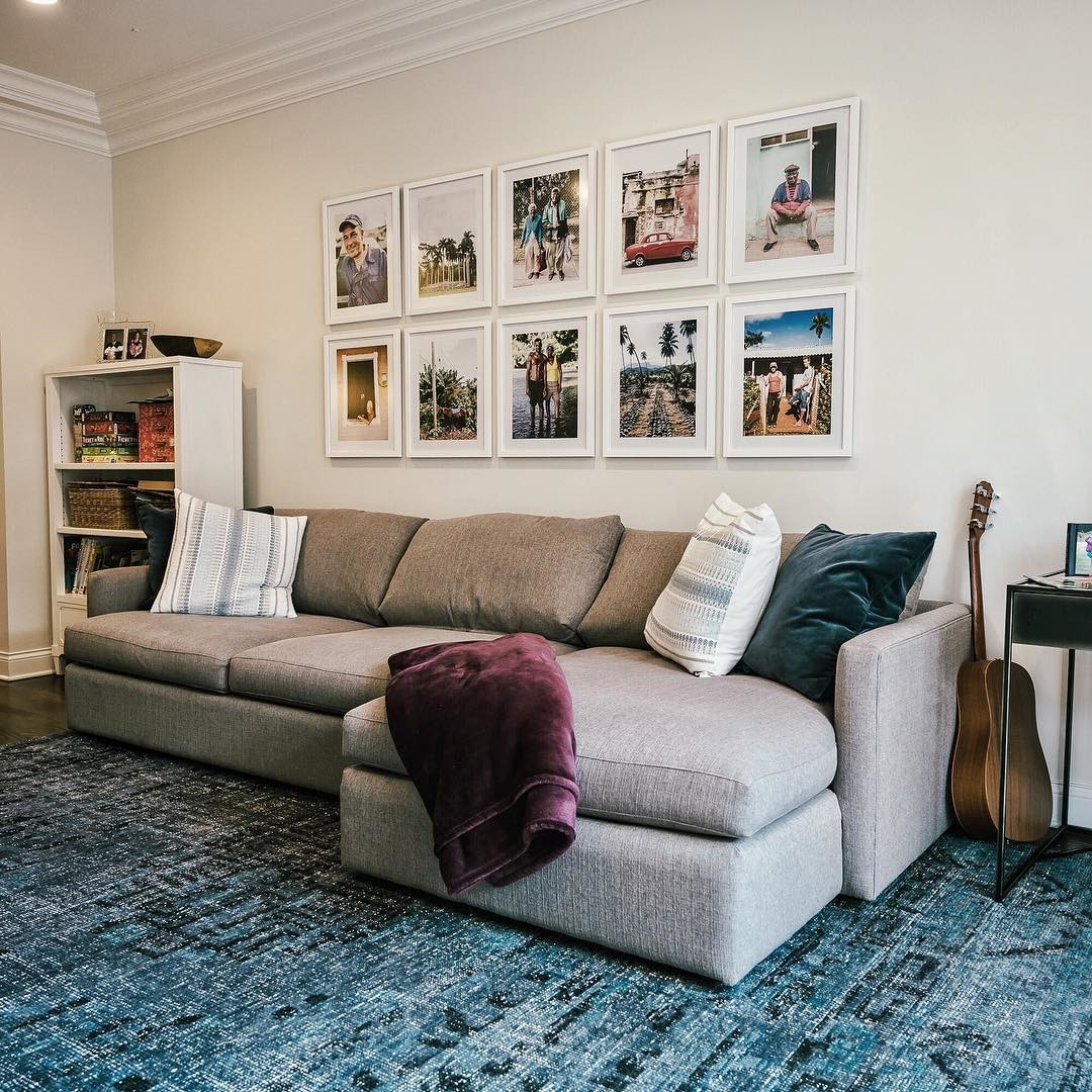 Create a Gallery Wall with Framed Photos