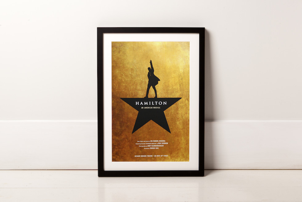 A Few Of Our Favorite Posters From The Playbill Store Available With Custom Frame