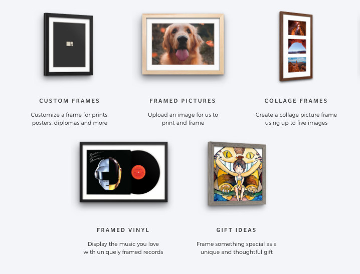 Custom Framing in NYC - Custom Picture Frames Online | Frame Art ...