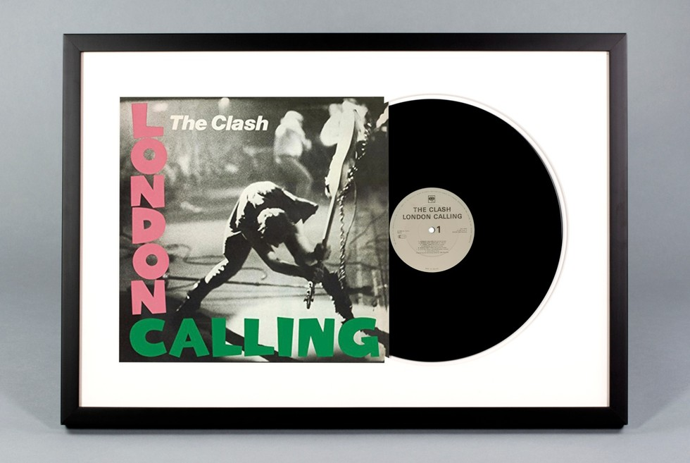The Clash London Calling Framed Vinyl Record