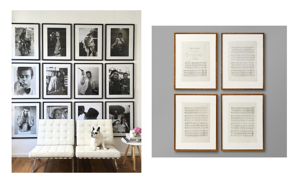Your Guide to Styling Wall Art & Gallery Walls - Custom Picture ...
