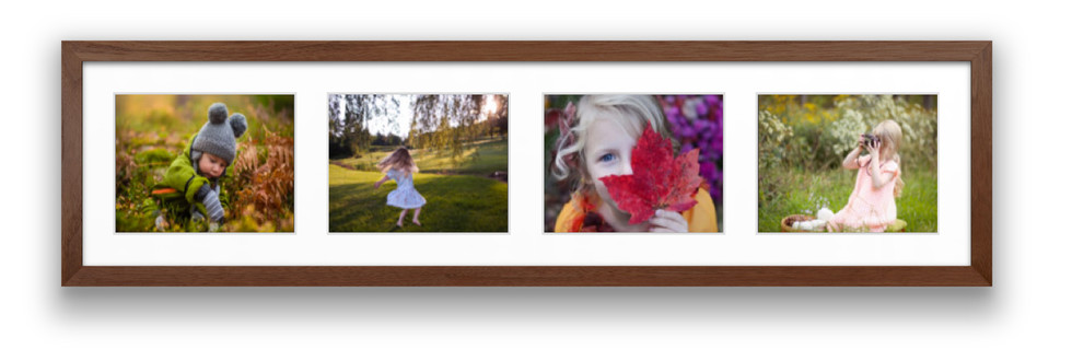 collage frame with photos