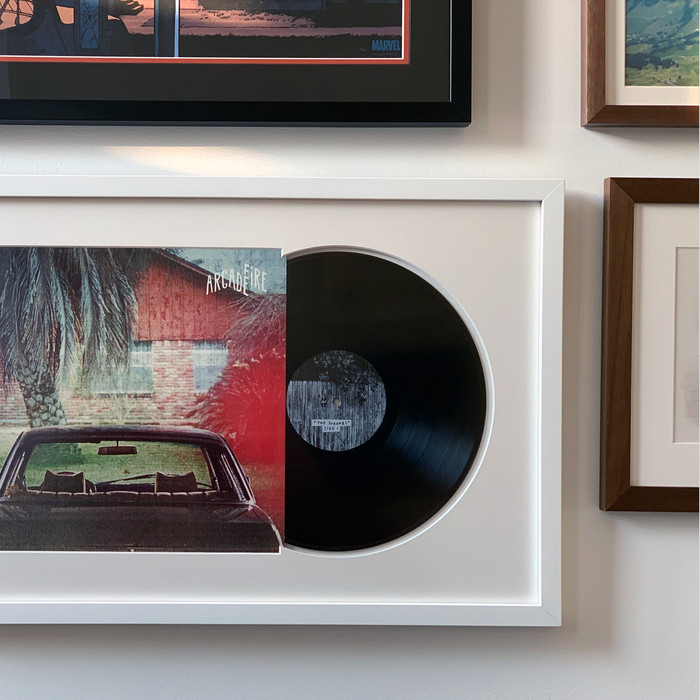 Framed Vinyl Records