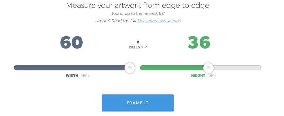 Get Started Custom Framing with Level Frames