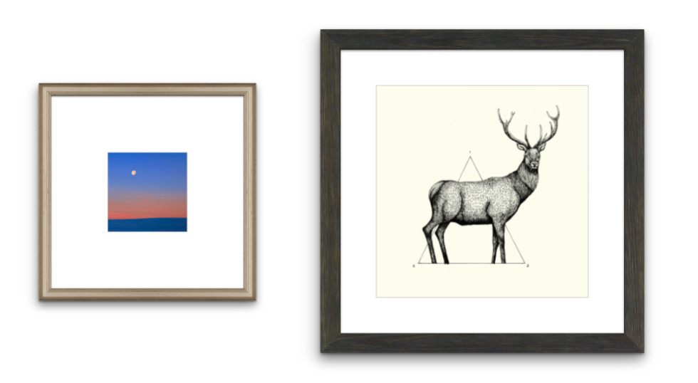 How to Choose the Right Frame Style For Your Art (And You) - Custom ...
