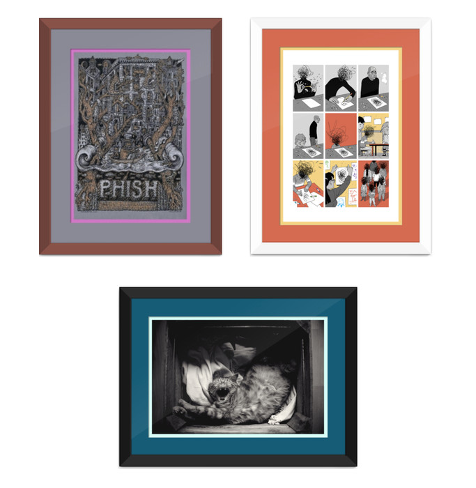 Your Guide to Double Matting - Custom Picture Frames Online | Frame ...