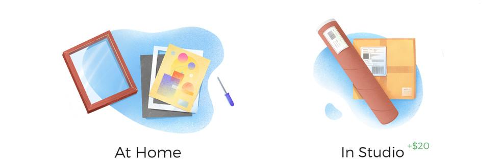 Choose Custom Framing for Artwork