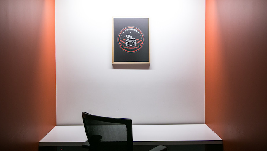 Online framing for office and retail