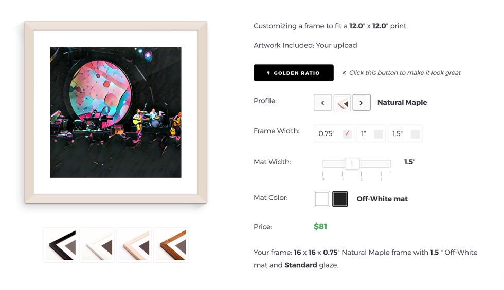 Photo Apps We Love Prisma Custom Picture Frames Online Frame