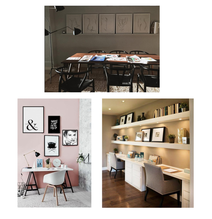 Tips Ideas For Decorating Any Office Space With Custom Framing