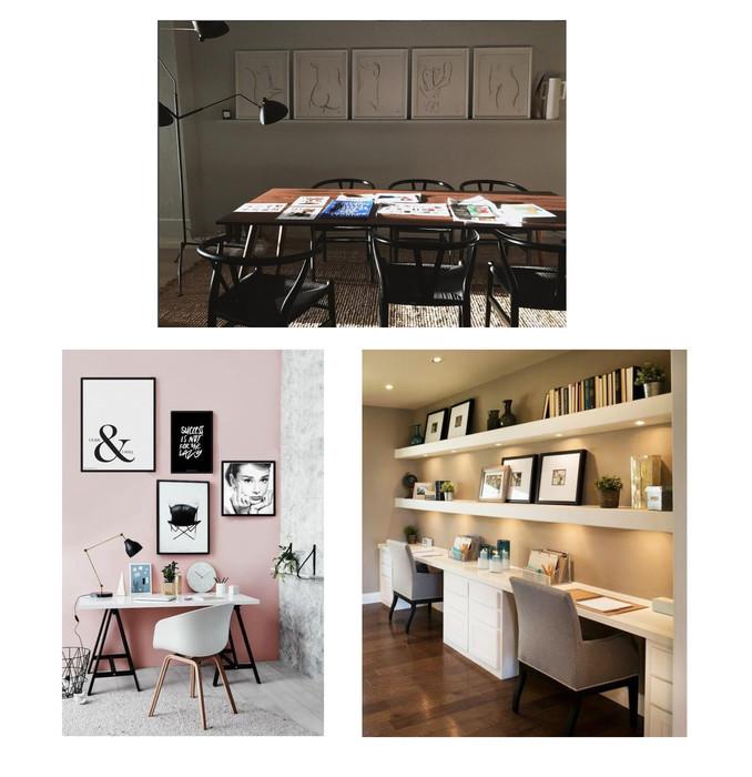 Home Office Custom Framing