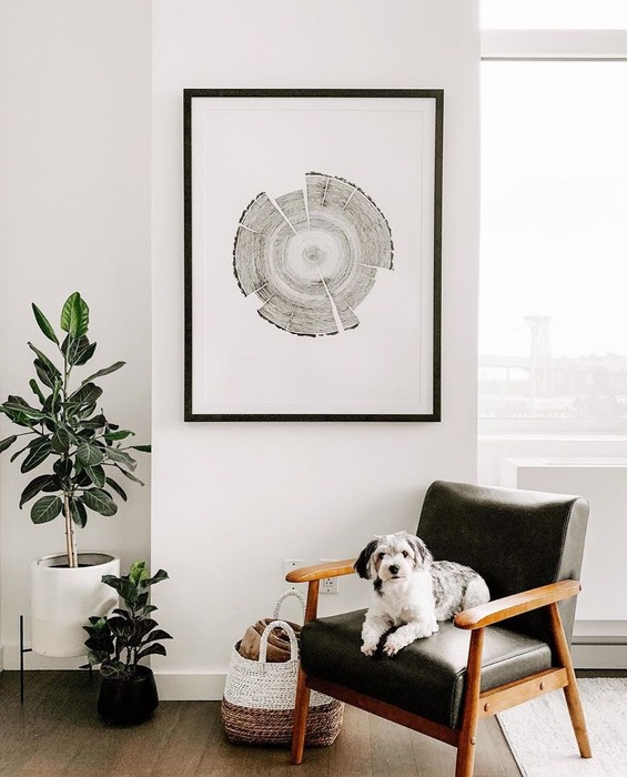 Online Custom Framing Hanging Tips
