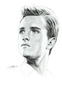 Peeta Coloring Pages