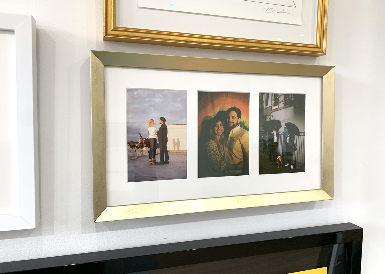 Collage picture frames - Online custom framing with Level Frames