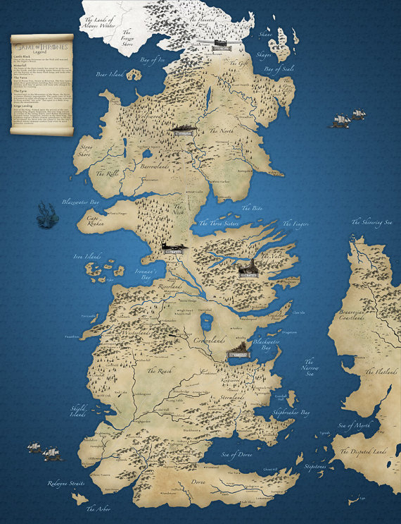 Westeros By Imagerich
