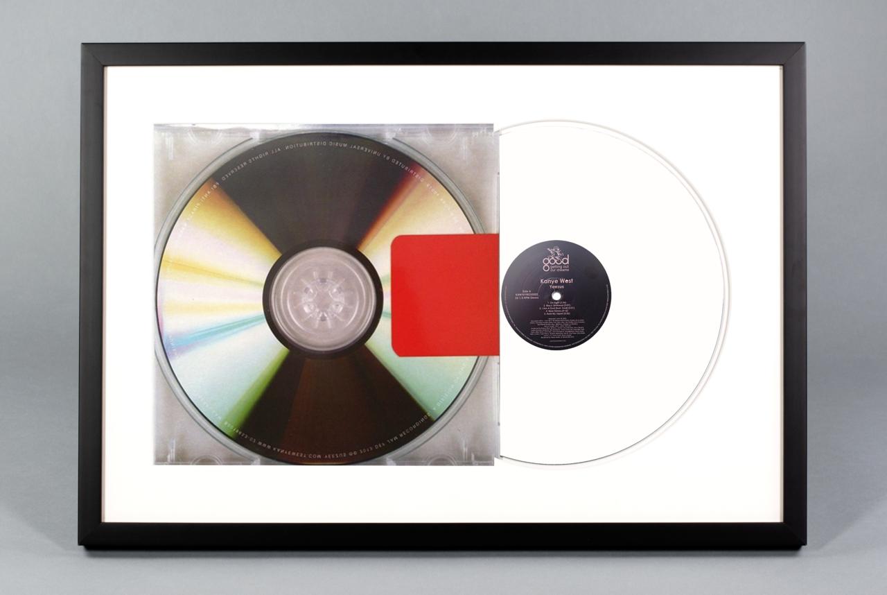 Yeezus - Framed Vinyl Album