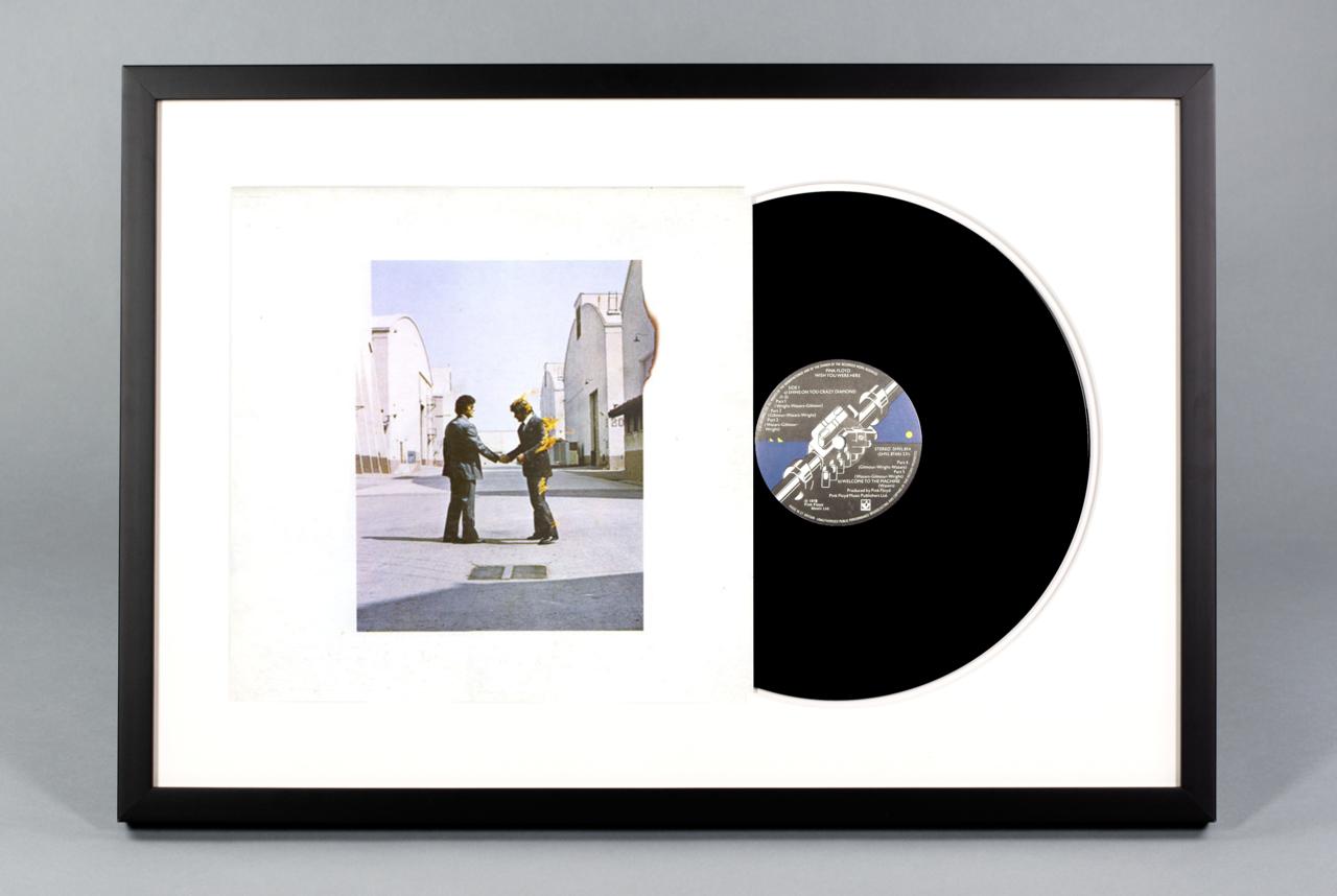 Wish You Were Here Framed Vinyl Album