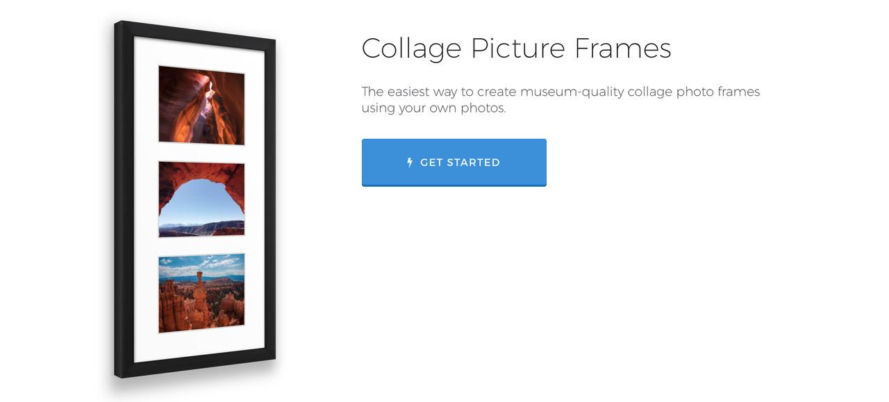 Online Collage Photo Frame