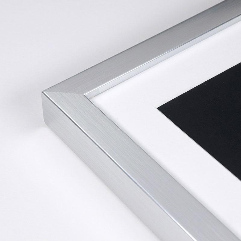 Arctic silver custom frame. Online framing