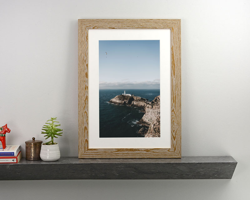 Beautifully printed and framed wedding photos