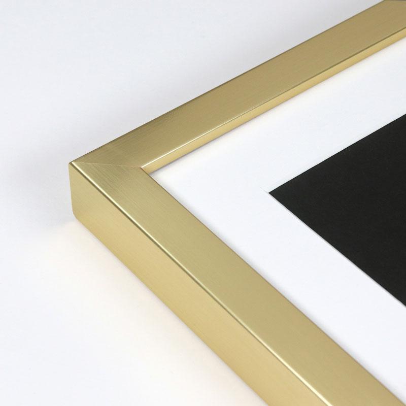 Sahara Gold custom frame