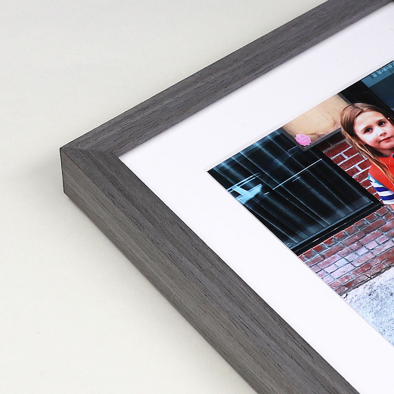 Cloud gray picture frame