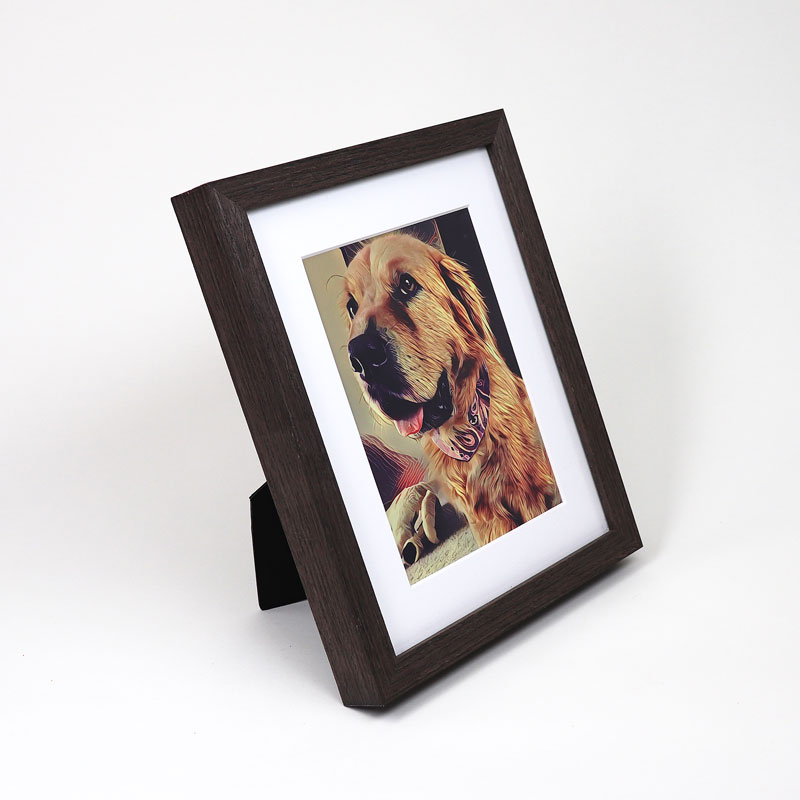 Espresso Tabletop Picture Frame - Level Frames