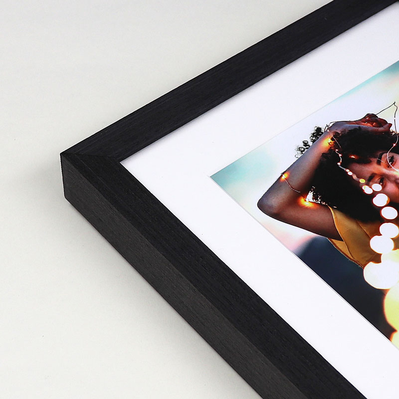 Slate black picture frame. Online framing
