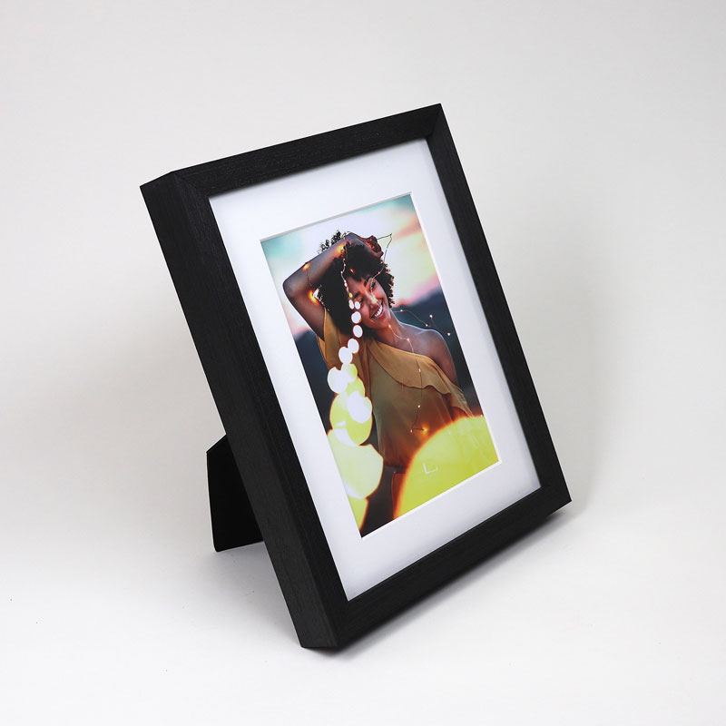 Slate Black Tabletop Picture Frame - Level Frames