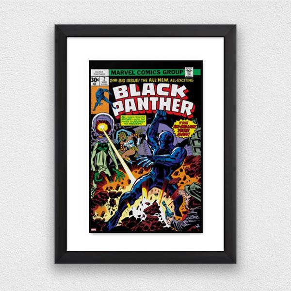 comic book framing