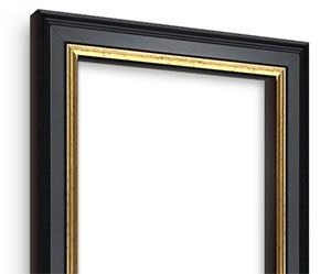 Academie Black picture frame