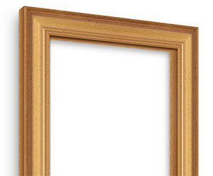 Academie Gold picture frame