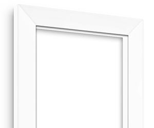 White Maple picture frame