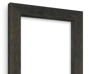 Weathered Black picture frame
