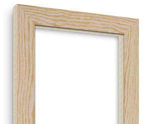 Weathered Natural picture frame