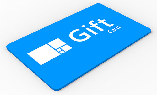 Level gift card generic