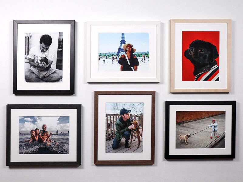 Frame a photo - quick shipped framed photos