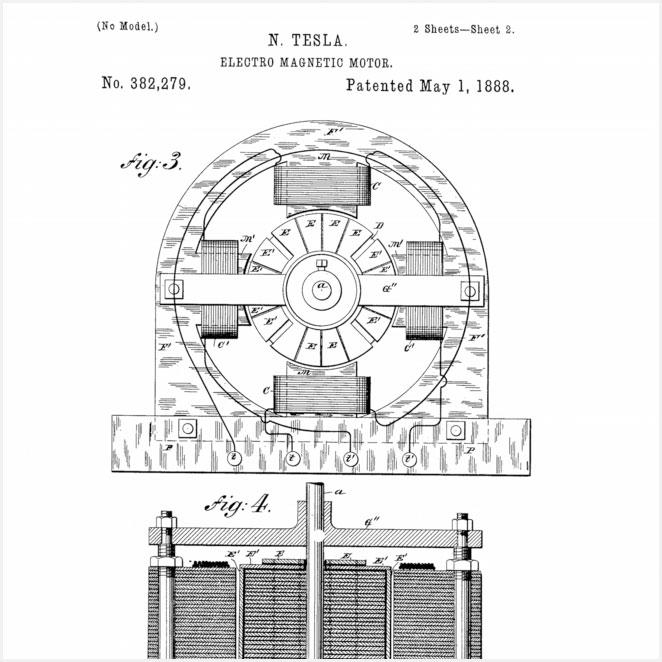 Framed Patents