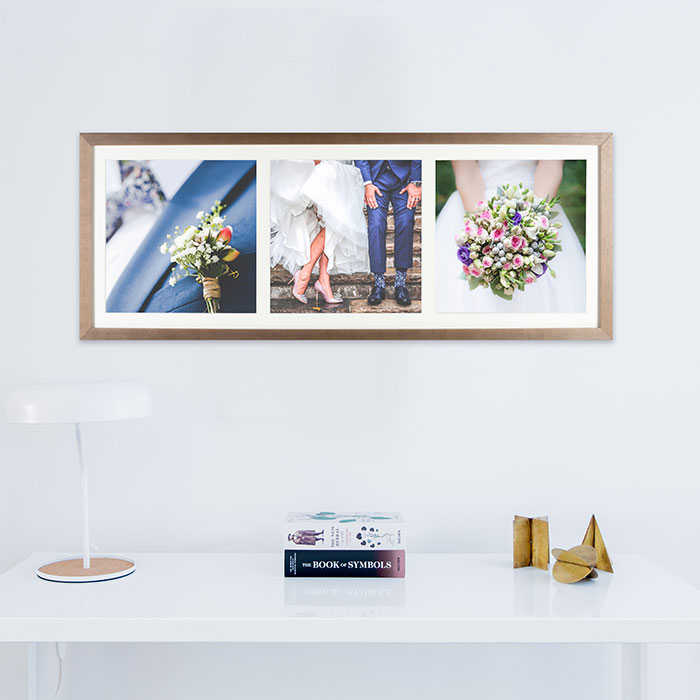 Walnut wedding collage