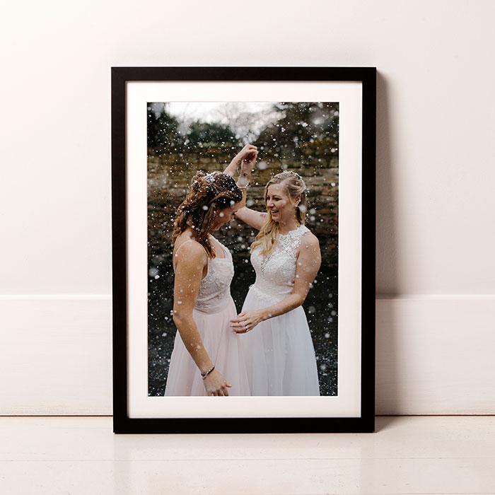 beautifully printed and framed wedding photos framed wedding photos