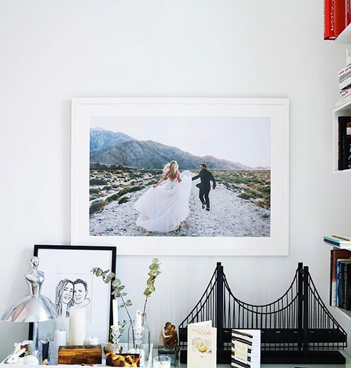 Wedding photo taller