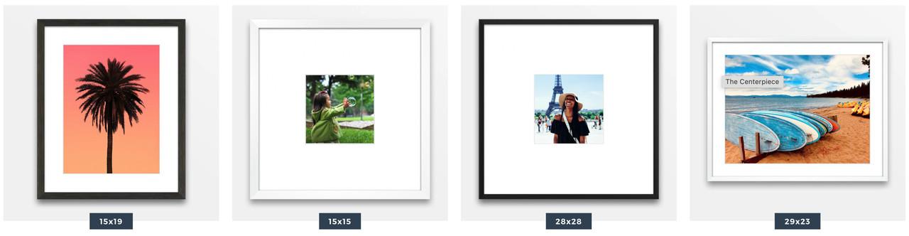 Popular Framed Photo Styles - Level Frames