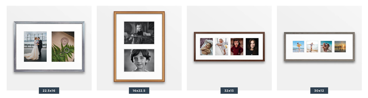 Top collage picture frame styles from Level