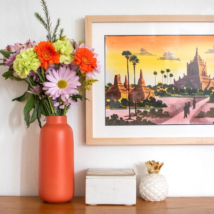 Two Ways to Custom Frame Artwork
